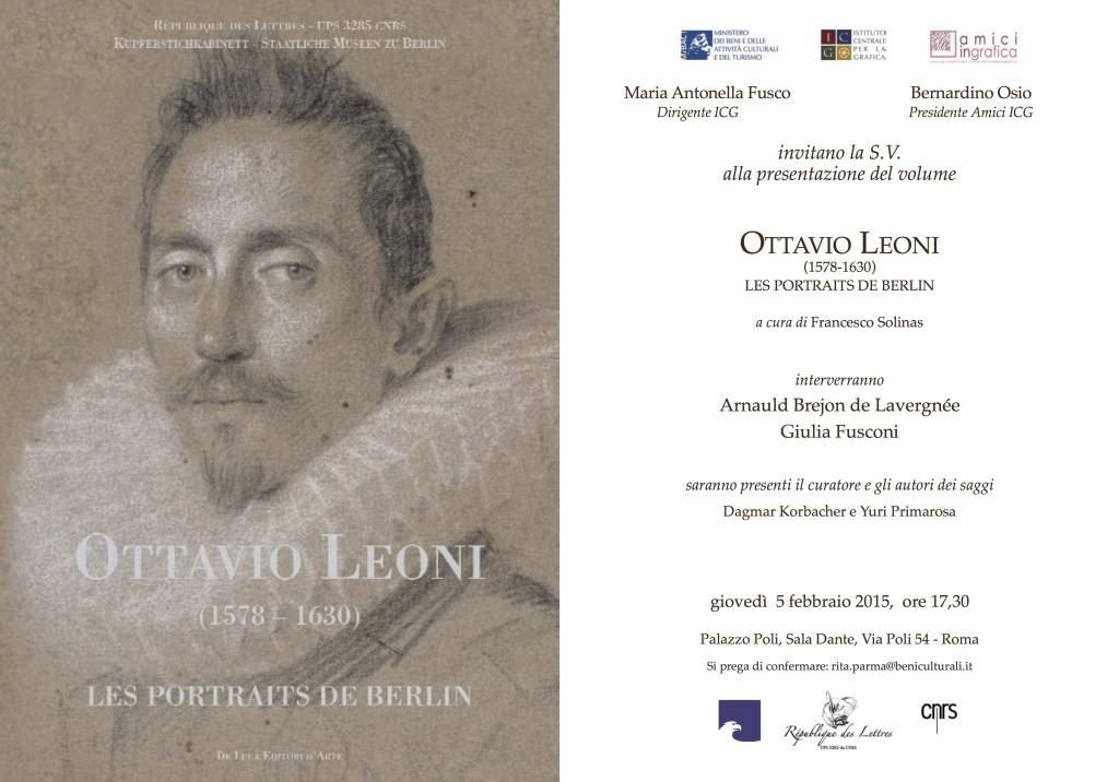 INVITO LIBRO LEONI