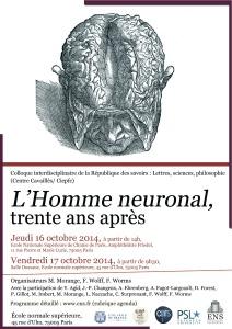 Octobre 2014 Affiche l'Homme neuronal