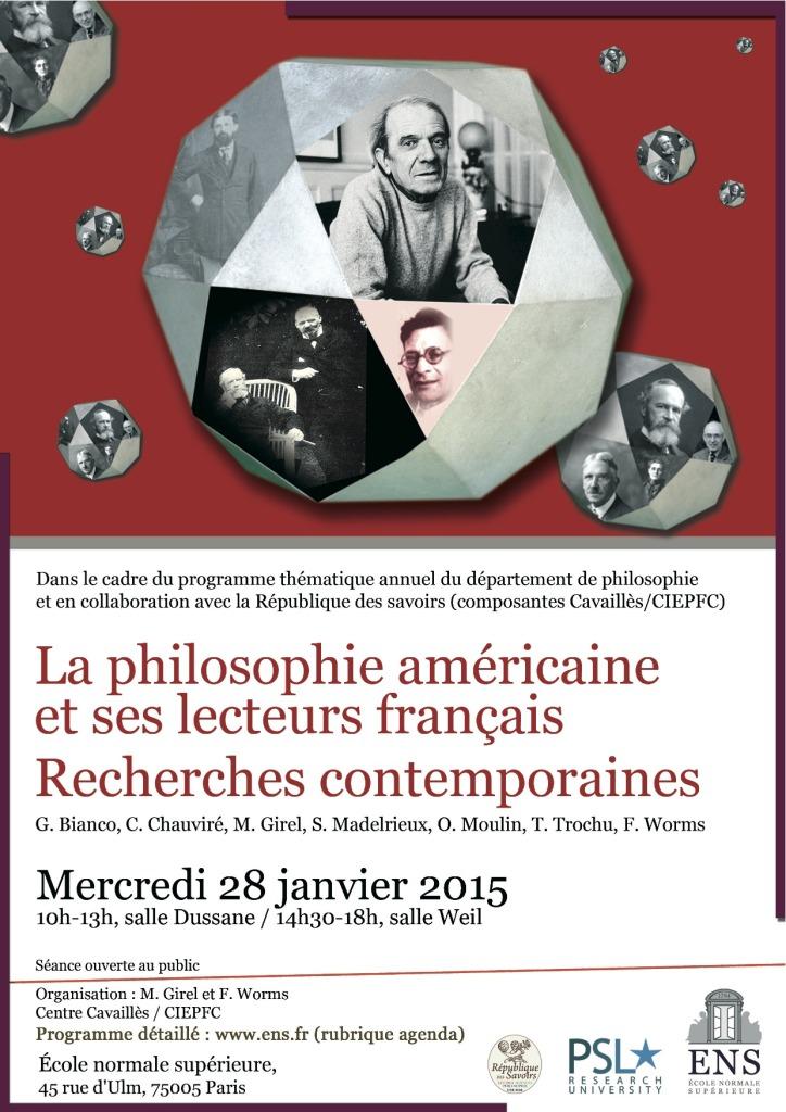 28 janvier 2015 Affiche pragmatisme
