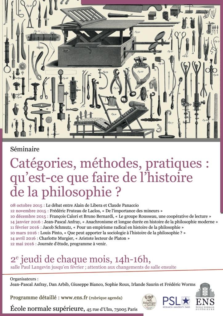 Octobre 2015 Affiche Catégorie philosophie