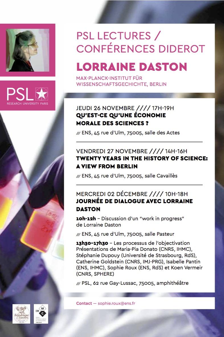 Affiche PSL-Lectures